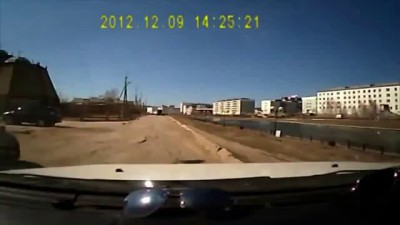 Небольшой конфликт на дороге с эпичной концовкой