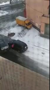 Автоледи выясняют отношения