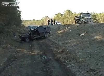 3.Страшное ДТП на трассе на 188 км Курган-Тюмень