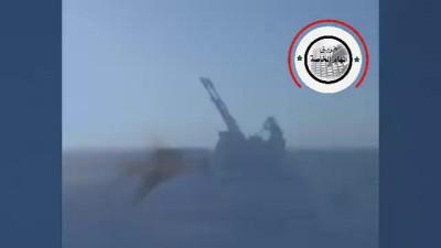 Дуэль - самолет ВВС Сирия против боевика