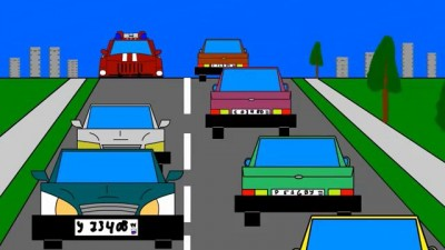 мигалки на дорогах
