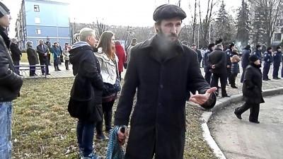 На Майдане в Краматорске