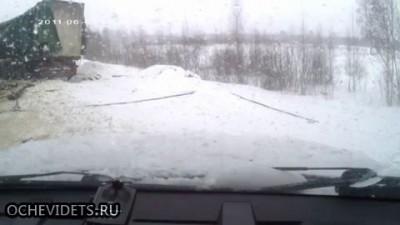 ДТП  двух фур на трассе М-9 «Балтия»
