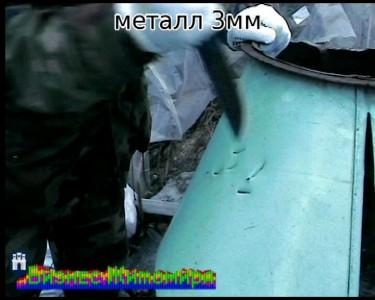 Тесты булатного ножа - металл, рог оленя, бумага. Бизнес Житомира (16)