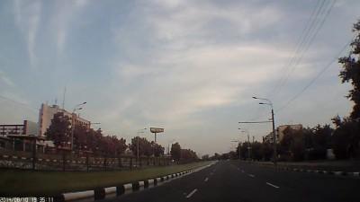 Американский самолет в небе над Харьковом 2