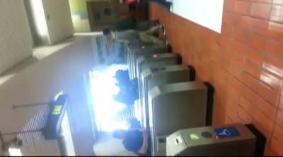 Голый безумец нападал на девушек в метро Сан-Франциско
