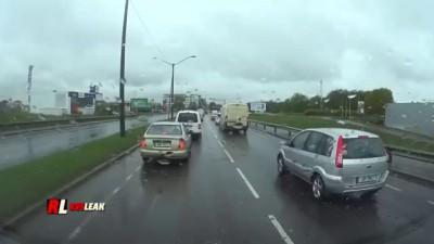 Плохая карма агрессивного водителя