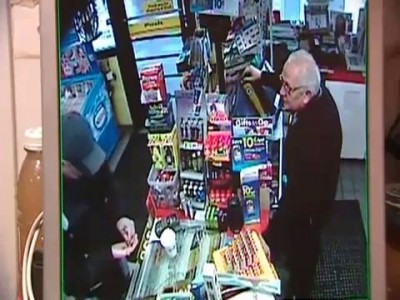 kindest armed robbery caught on camera