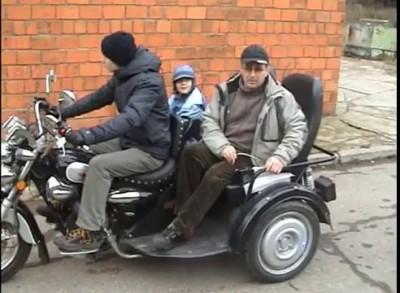 """Мотор-колесо Шкондина, """"Рикша"""""""