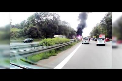 1. В результате аварии в Германии погибли пять жителей Литвы