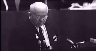 Никита Хрущёв о Царь Бомбе. Уникальные кадры!