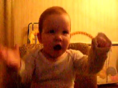 Дочка танцует