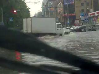 Потоп в Перми - Комсомольский пр-т