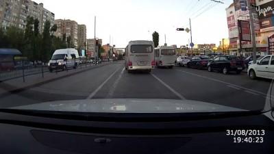 Беспредел водителей общественного транспорта в г.Роcтове-на-Дону
