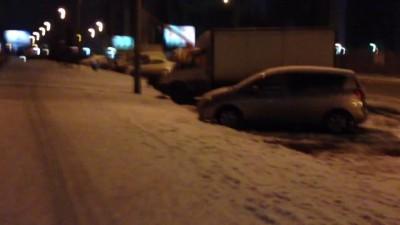 Ночная эвакуация автомобилей в Красноярске 2