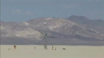 Камера на самодельной ракете