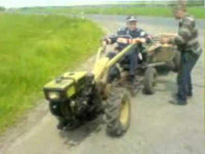 Смерть мини-трактора