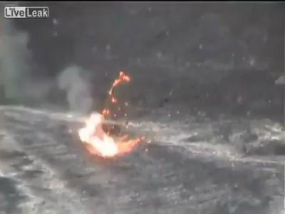 Утилизация мусора в вулкане