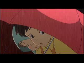 Отрывок из мультфильма «Мой сосед Тоторо»
