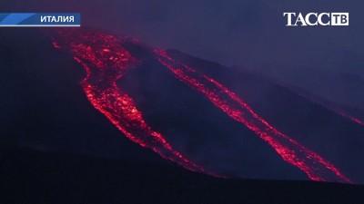 извержение_Этна_июнь 2014