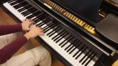 """Гражданская Оборона - """"Мёртвые"""". Piano cover by Lucky Piano Bar (Евгений Алексеев)"""
