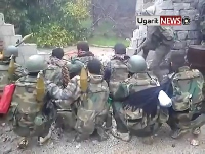Как веселятся сирийские солдаты