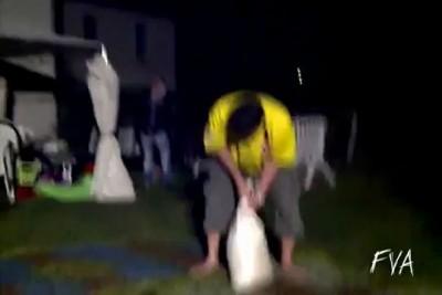 FVA- Drunk Sandbag Swing Fail