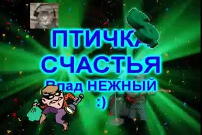 """ПТИЧКА """"СЧАСТЬЯ"""" - Влад НЕЖНЫЙ"""
