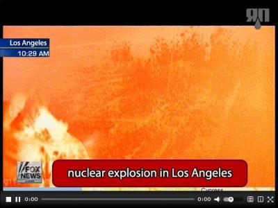 Ядерный взрыв в Лос-Анджелесе