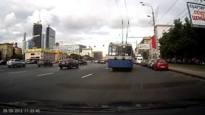 Авария на Кутузовском