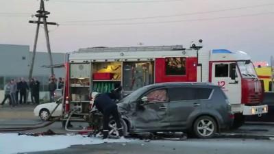 Авария перекресток Морозова - Сысольское шоссе