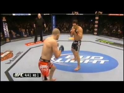 UFC 158: Джейк Элленбергер нокаутировал Нэйта Маркардта