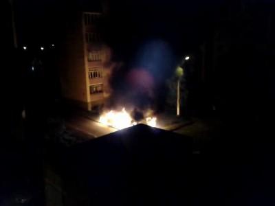 Поджог машины