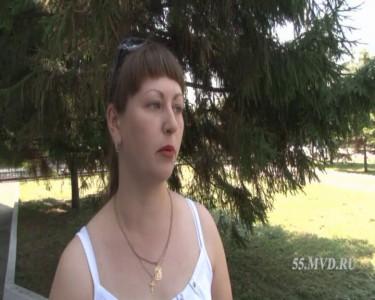 Оксана рассказывает про ДТП