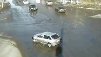 ДТП в Миассе 31 марта 2012