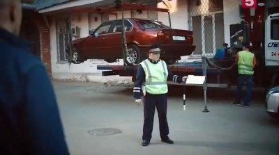Гошу Куценко достали эвакуаторы