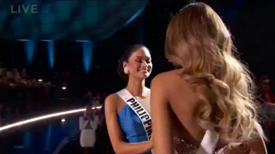 Steve Harvey Announces The WRONG Winner of Miss Universe 2015