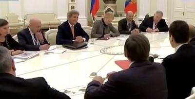 Путин троллит Керри