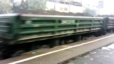 Поезд на Тушинской