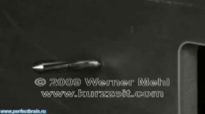 Полет Пули, Снятый с Частотой 1 000 000 Кадров в Секунду