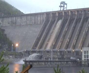 Сброс воды Зея