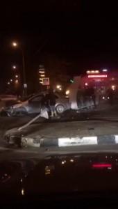 Авария возле ленты - Репортаж.