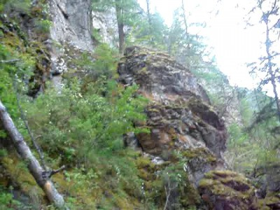 Скотогонная тропа (выход по тропе на плато Ештыкол)
