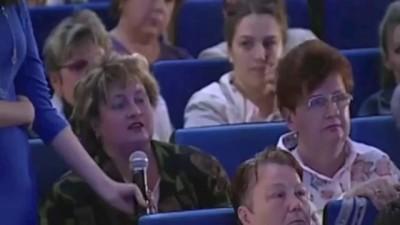 ВРИО Губернатора Подмосковья Андрей Воробьев хамит в прямой эфире