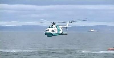 Вертолет сделал жесткую посадку в воду вблизи Перл-Харбор
