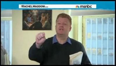 «Двойник» Путина затмил Маккейна на американском ТВ - MSNBC - INO TV