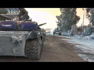 Интервью сирийского танкиста российскому