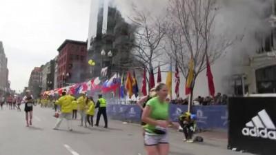 Первый и второй взрывы в Бостоне