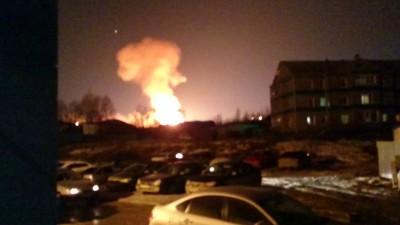 Пожар в Нягани