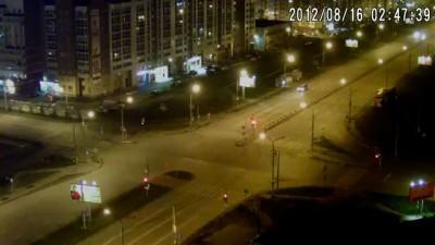 16.08.2012 02:47 ДТП на пересечении улиц 9 мая и Водопьянова